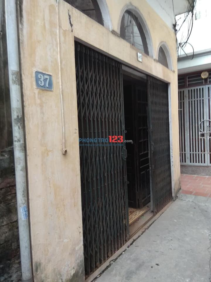 Cho thuê phòng ở tầng 2, nhà 2 tầng, phố Khương Trung, Thanh Xuân, Hà Nội