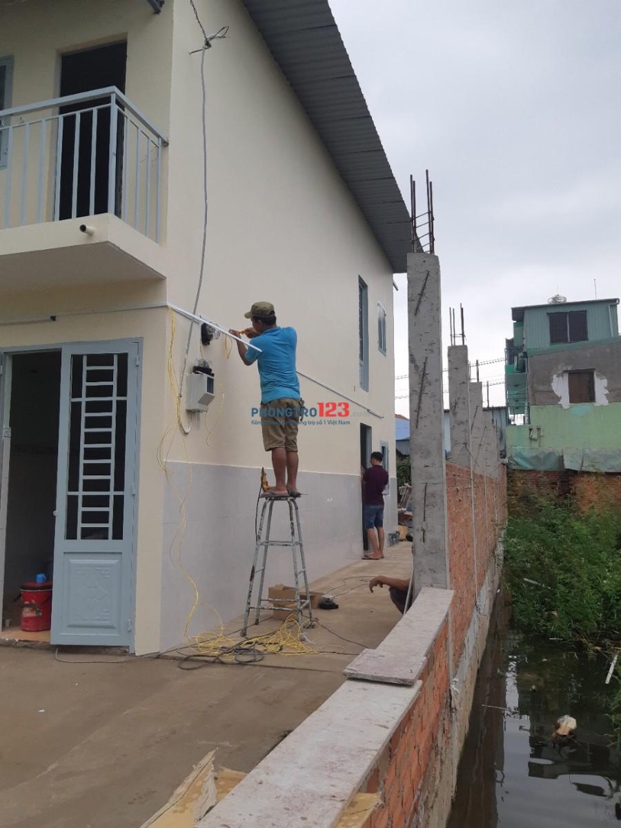 Cho thue nhà trọ dien tích 40m2 cách Nguyen Thị Tú 500m