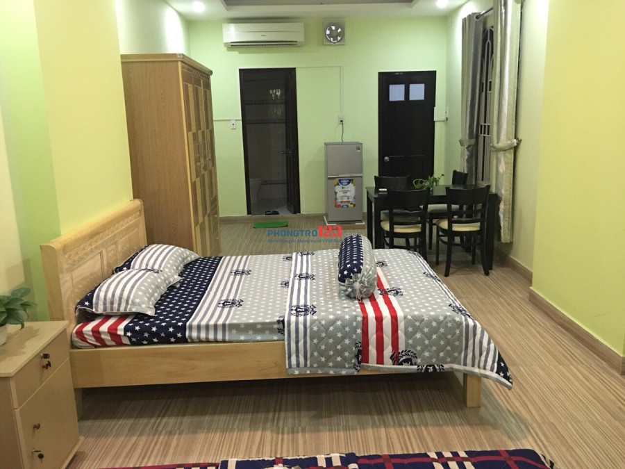 Cho Thuê phòng ở cao cấp full nội thất  đường Út Tịch p4 Tân Bình dt từ 20-40m2