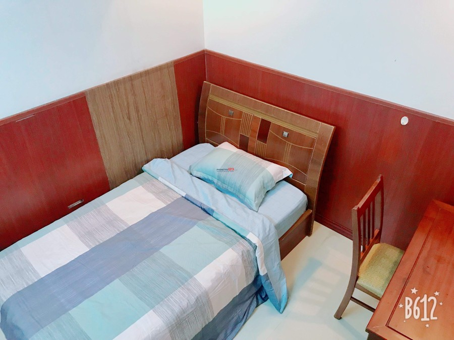 Cho thuê phòng trọ đầy đủ tiện nghi new 100% ngay trung tâm q1