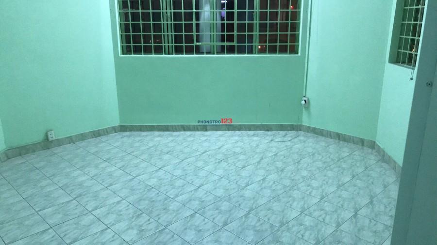 cho thuê lại 2Pn trống căn hộ chung cư sư vạn hanh P9,Q5 .an ninh tốt , giá 4,5tr/phòng