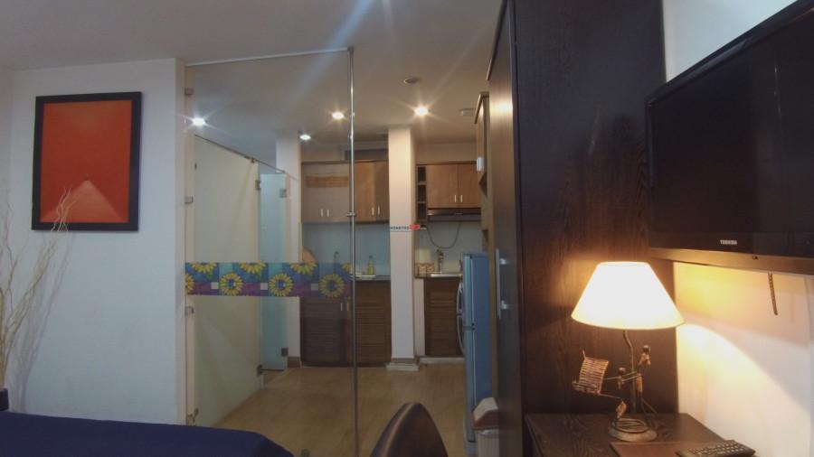 15 Triệu/Mặt bằng + căn hộ đầy đủ nội thất dịch vụ tầng trệt mặt tiền Võ Thị Sáu Q1