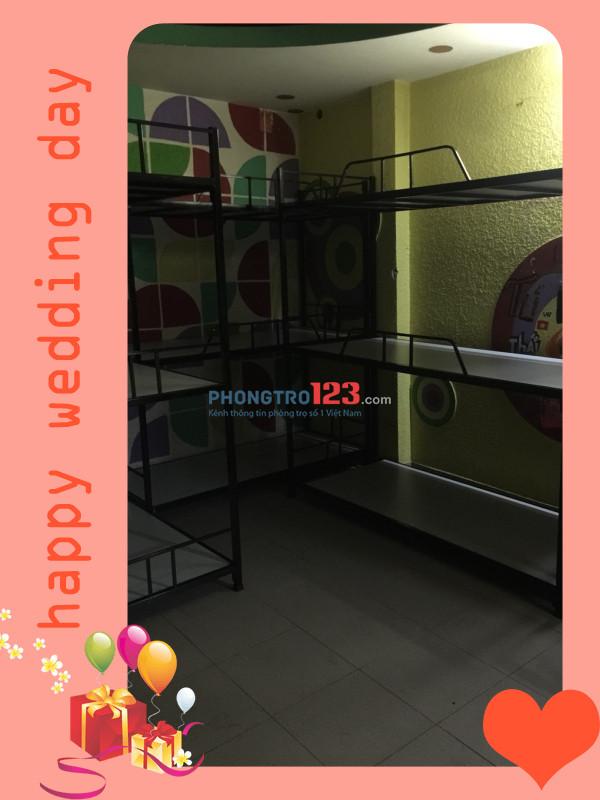 Phòng KTX máy lạnh giá chỉ 450k/người/tháng quận 7