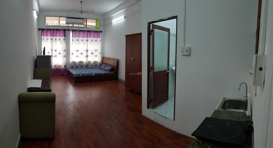 Phòng căn hộ mini 45m2 đầy full nội thất cao cấp trung tâm Quận 3