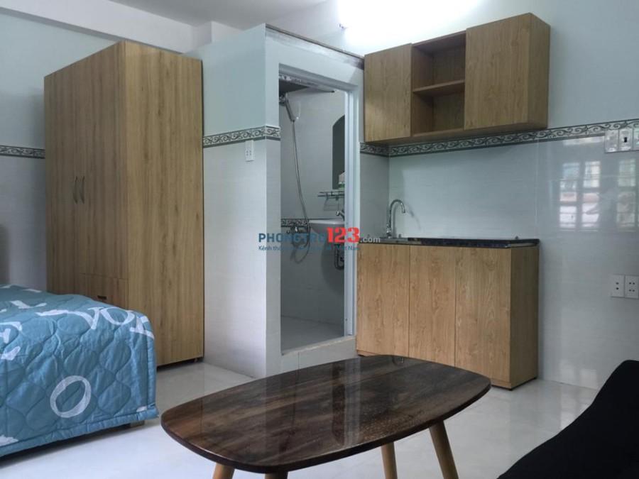 Căn hộ dịch vụ studio gần Sân Bay mới 100%, quận TB