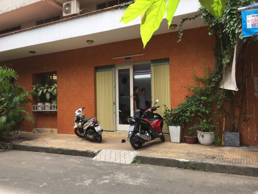 Cho thuê phòng trọ đủ nội thất, toilet riêng khu chung cư Phạm Viết Chánh, quận Bình Thạnh