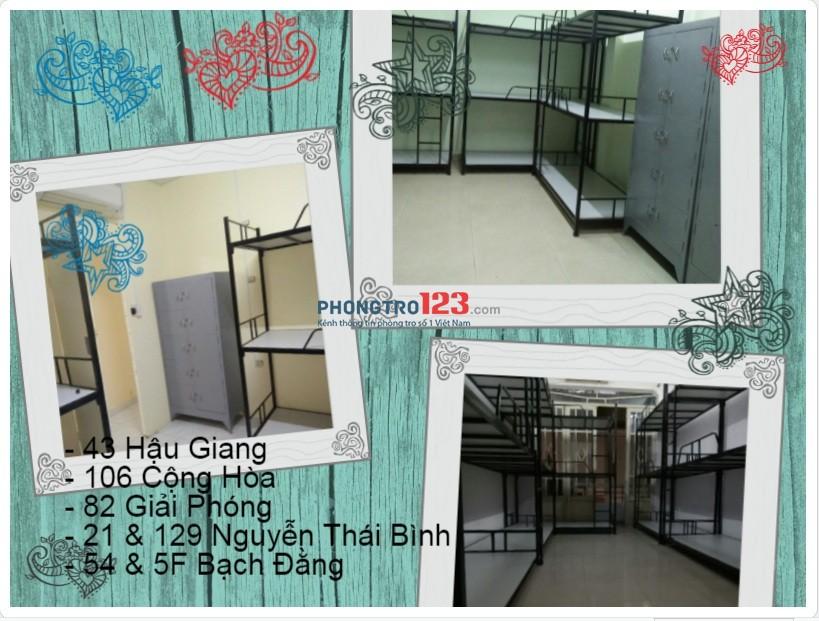 Phòng trọ Q.Tân Bình 42m² có máy lạnh, wifi 450k