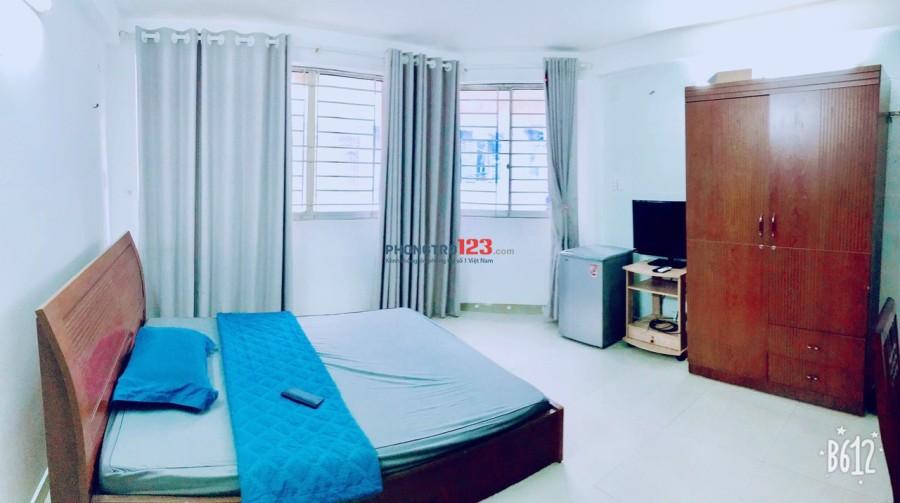 Cho thuê phòng trọ đầy đủ tiện nghi new 100% ngay Q.3