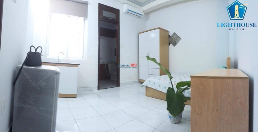 Căn hộ full nội thất 12/14 Hoàng Hoa Thám, Bình Thạnh giá 4,tr3  anh thật 100% LH 0902614686