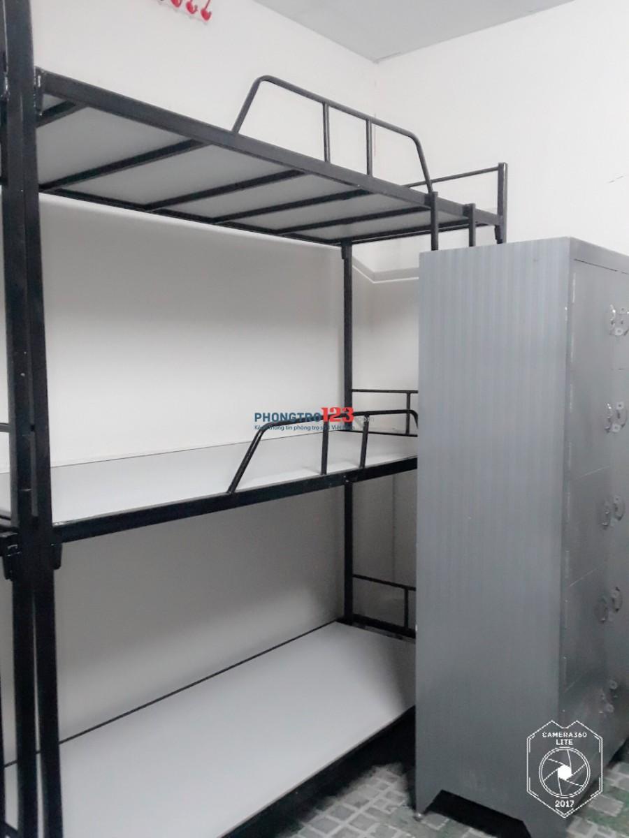 Cho thuê ktx 40m=450k/tháng Quận 10 mới xây có máy lạnh