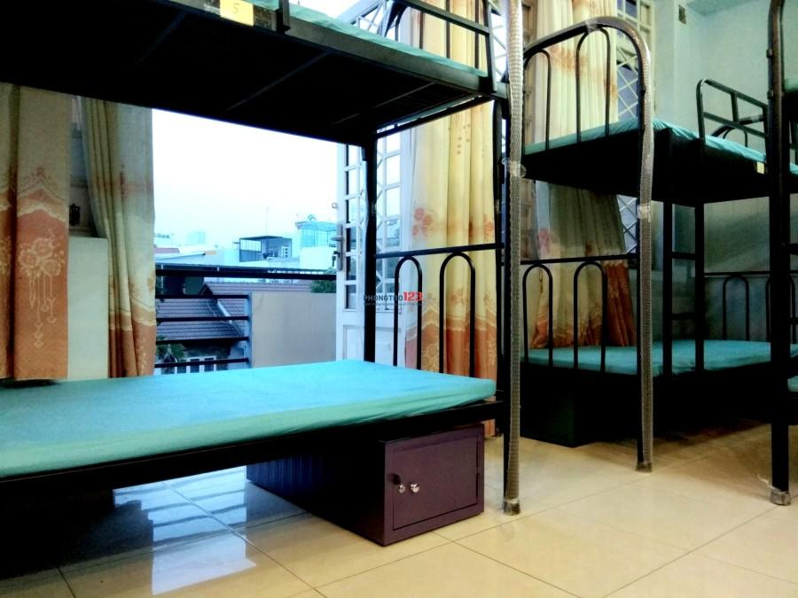 Phòng ở ghép - Ký túc xá sinh viên 1triệu6/tháng bao điện nước ngay Hutech, Ngoại Thương, Quận 1