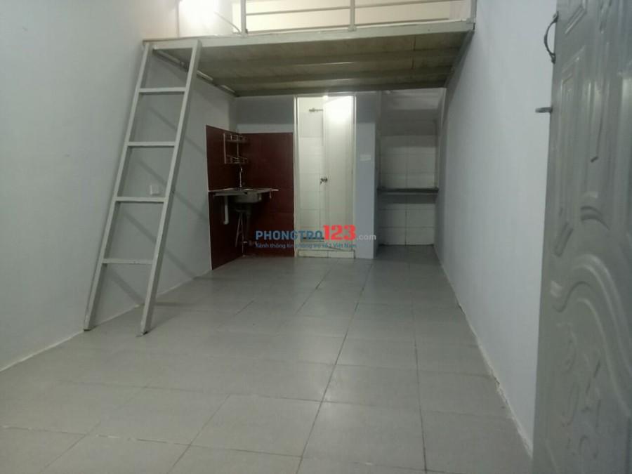 Phòng trọ mới xây có gác lửng, 20m2, bao các chi phí, giờ giấc tự do