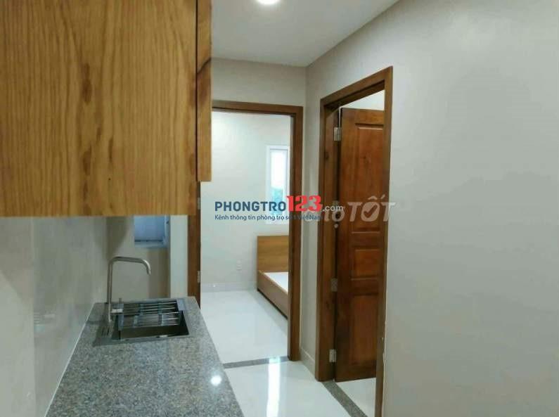 Phòng cao cấp rộng thoáng mát đường Tôn Thất Tùng, full Nội thất