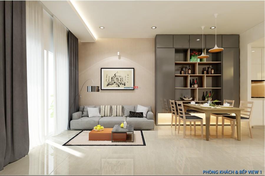 Cho thuê căn hộ cao cấp The sun avanue Novaland giá 9tr/tháng 30m2