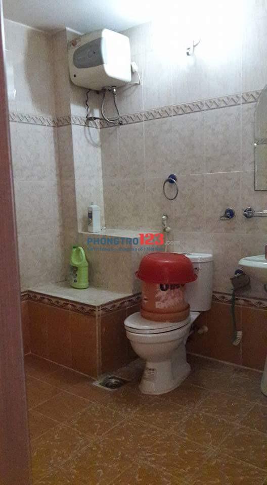 Cho thuê phòng trọ trong nhà nguyên căn quận Tân Phú