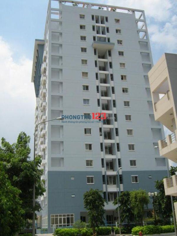 Cần cho thuê chung cư quận 3 giá 14tr đầy đủ nội thất