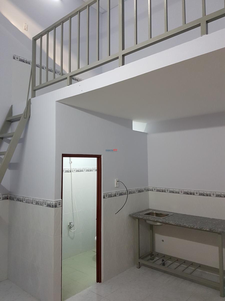 Cho thuê phòng trọ diện tích lớn Mặt tiền hẻm 7m Phường 15 Tân Bình