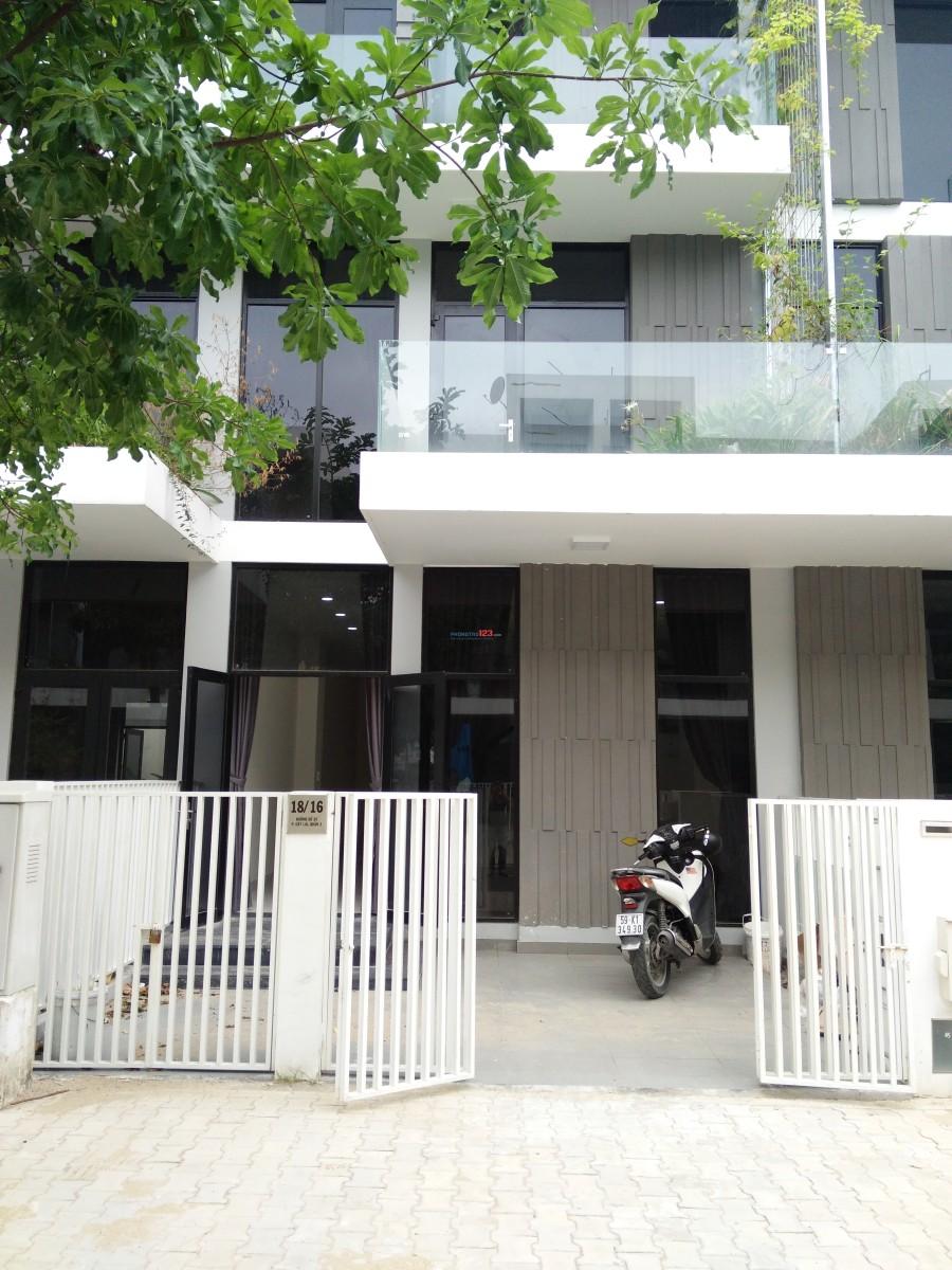 Cho thuê nhà phố nguyên căn Citi Bella Q2