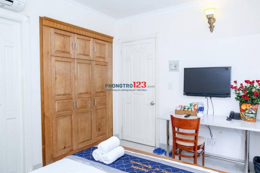 Căn hộ 1 phòng ngủ cao cấp giá rẻ Quận 1 35m2, Trần Hưng Đạo