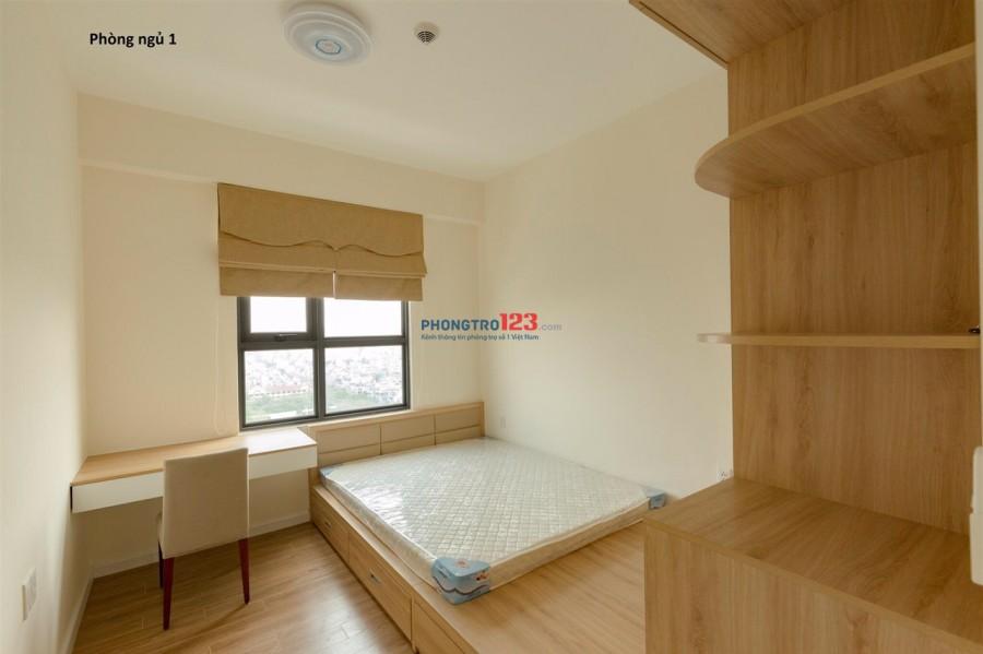 Cần cho thuê lại căn 3PN ở M-one quận 7 có đầy đủ nội thất, view trực diện sông, 17 triệu/tháng.LH: 0773901588