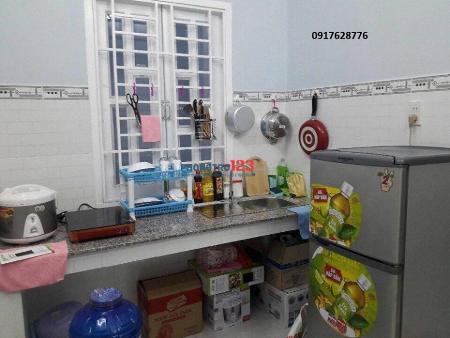 Cho thuê căn hộ 1ngủ và 1 bếp, ban công gần HĐ Hutech. Quận Bình Thạnh