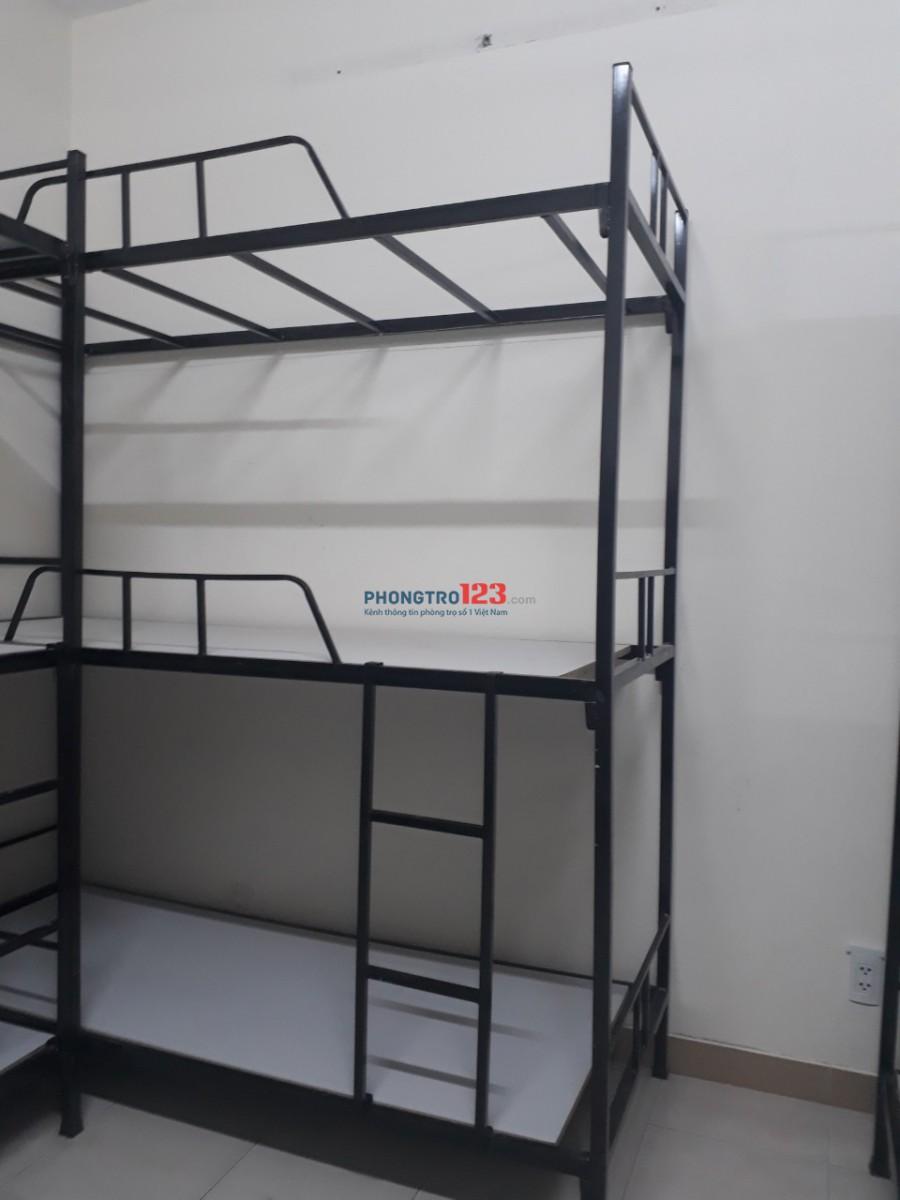 còn vài phòng ký túc xá cho thuê 450k/tháng, máy lạnh quận Phú Nhuận