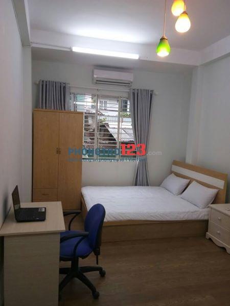 Phòng trọ 25m2 mới xây, cửa sổ thoáng FREE wifi+máy giặt duy nhất hôm nay Ngã tư Phú Nhuận