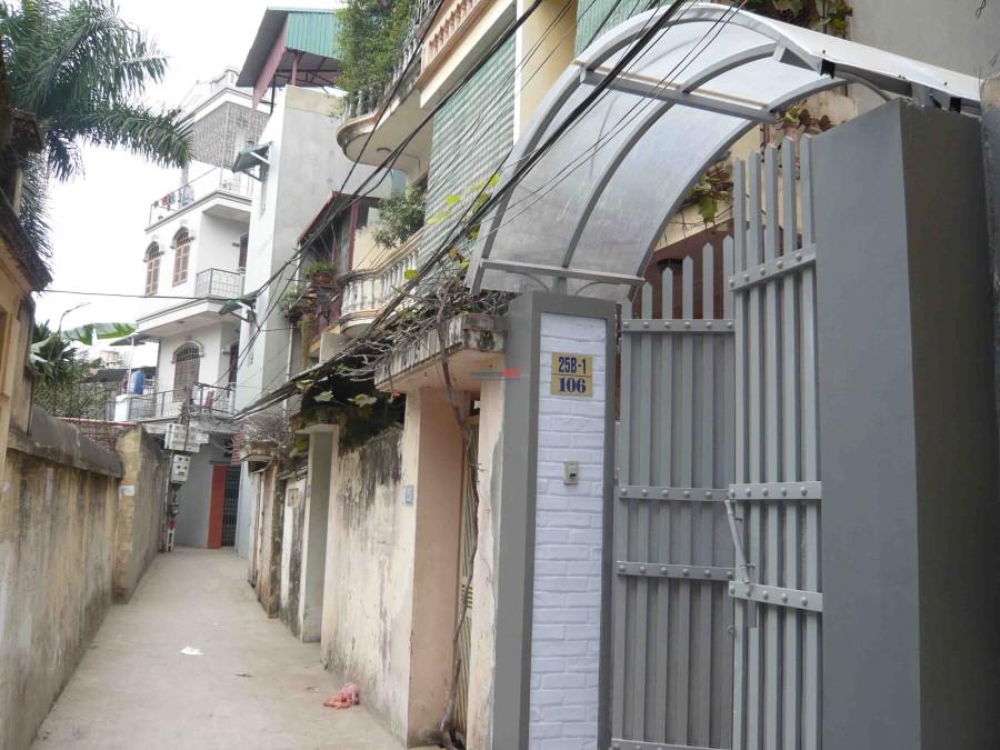 Cho thuê nhà số 25B /Ngách 106 Ngõ Gốc Đề - Phố Minh Khai – Hà Nội. (Cách cầu Mai Động 5)