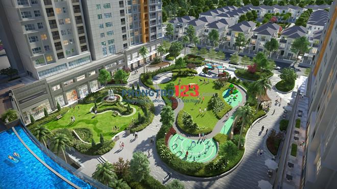 Cho thuê Officetel The sun avanue Novaland 27m2 view sông , giá 7tr hoàn thiện cơ bản