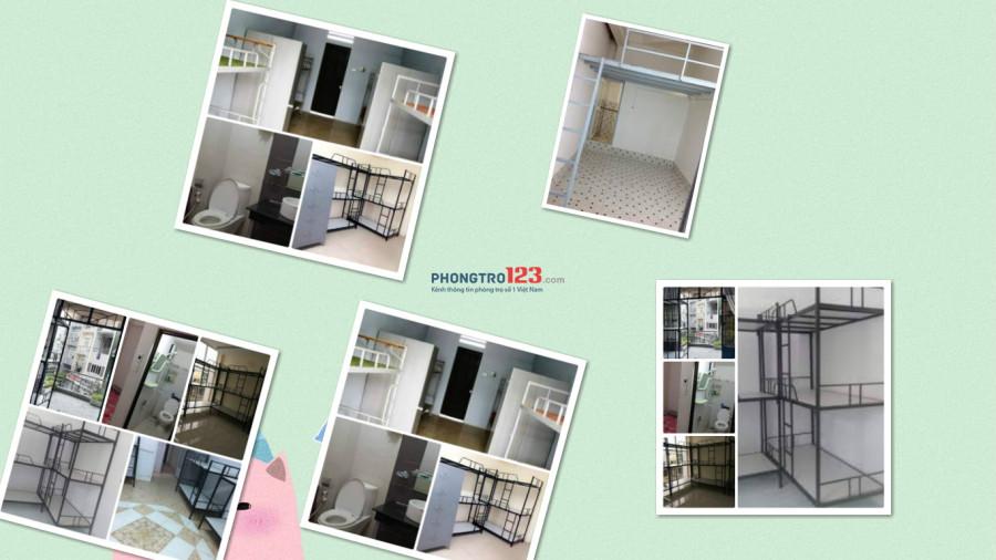 Phòng kí túc xá quận 10 có máy lạnh sạch sẽ 450k/tháng