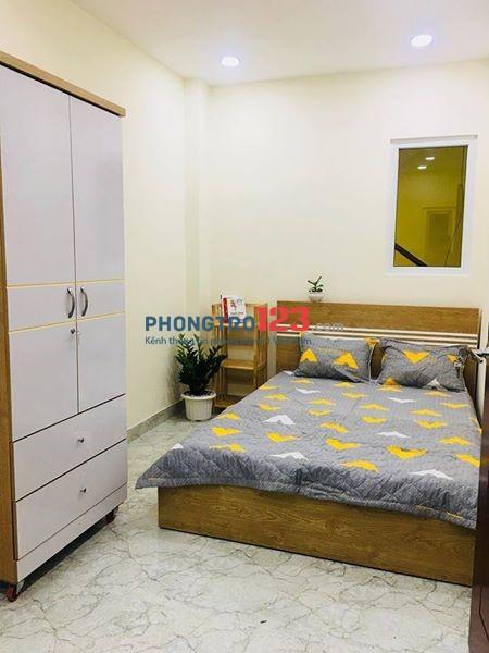 Phòng trọ cao cấp giá rẻ cho người đi làm, an ninh, tự do giờ giấc Nguyễn Kiệm, Phú Nhuận