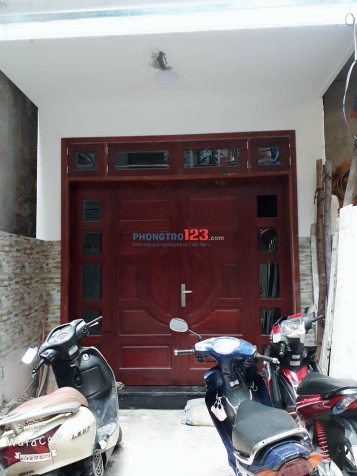 Cho thuê phòng trọ 493 Trương Định 22m