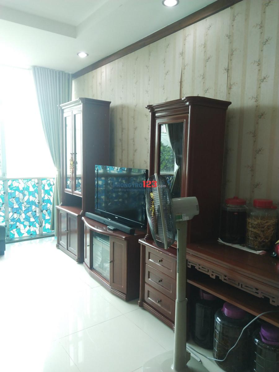 Tìm nữ ở ghép trong căn hộ Hoàng Anh Gia Lai 1-357 Lê Văn Lương - 0941238769