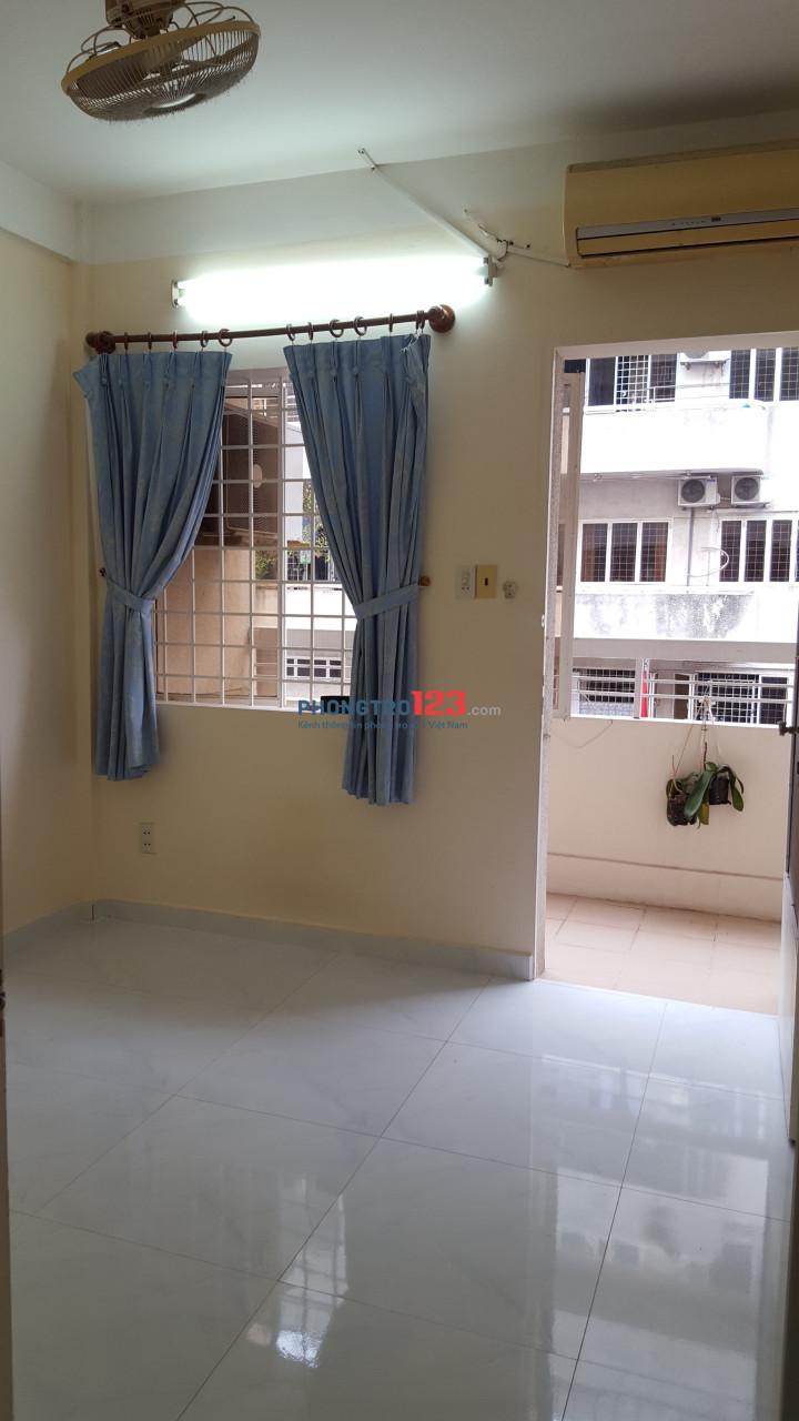 (Phú Nhuận) Phòng chung cư cho nữ thuê, giờ giấc & sinh hoạt tự do
