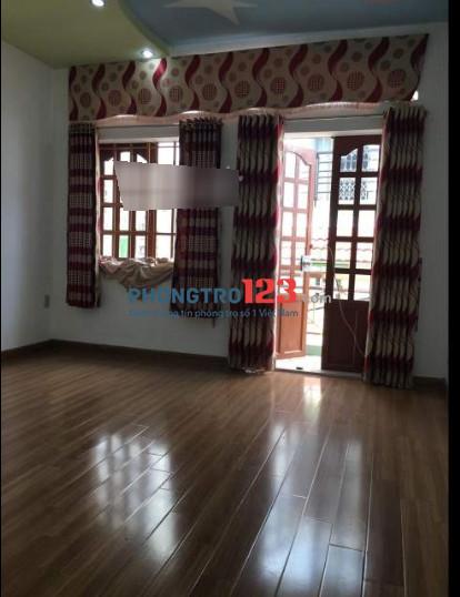 Nhà sạch đẹp 1 lầu Nguyễn Đỗ Cung vào ở ngay Tân Phú