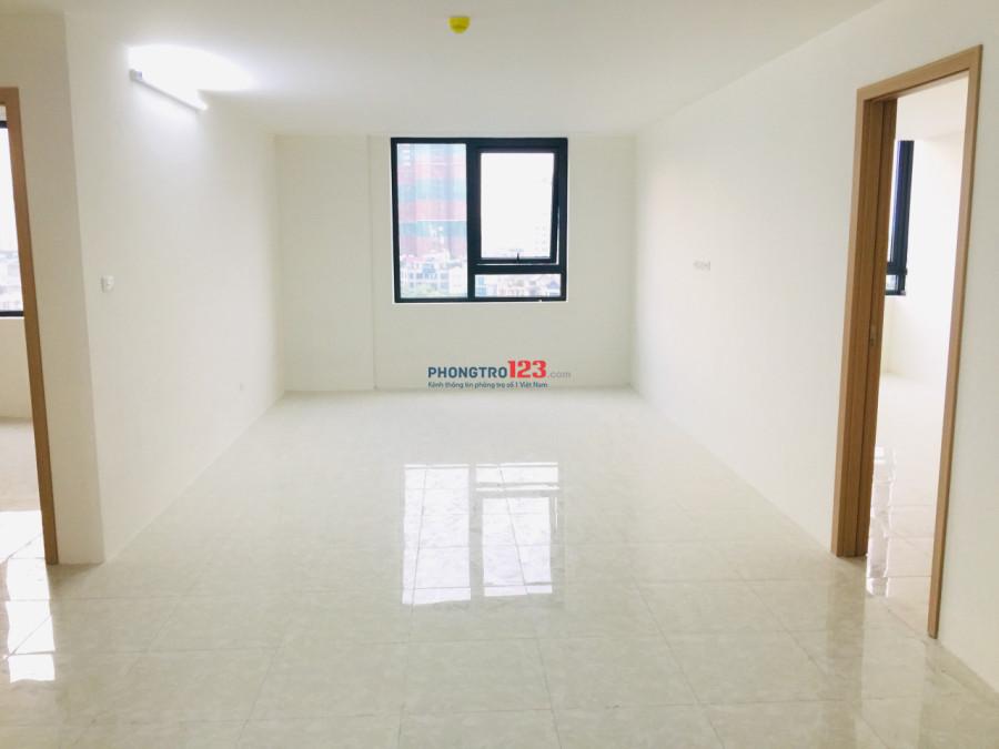 Cho thuê CHCC Park View City Yên Hòa, Vũ Phạm Hàm (mới bàn giao) tầg 6, 106 m2, căn góc, 3 PN, 2 WC. Giá 15 triệu/tháng