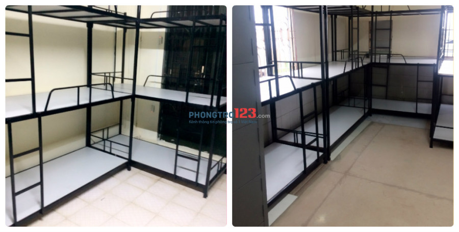 KTX máy lạnh đường D1, Bình Thạnh giá 450k/tháng