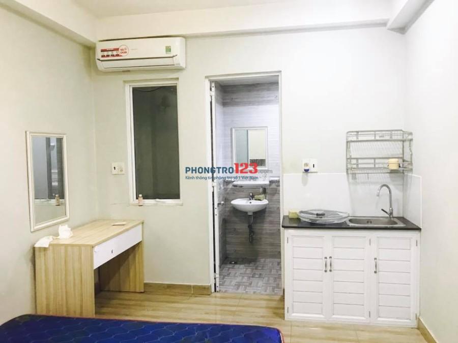 Phòng Căn Hộ Dịch Vụ Full NT Mới Xây Ngay 78 Khánh Hội, Q.4 giá 5tr - 5,8tr. LH: 0387205966