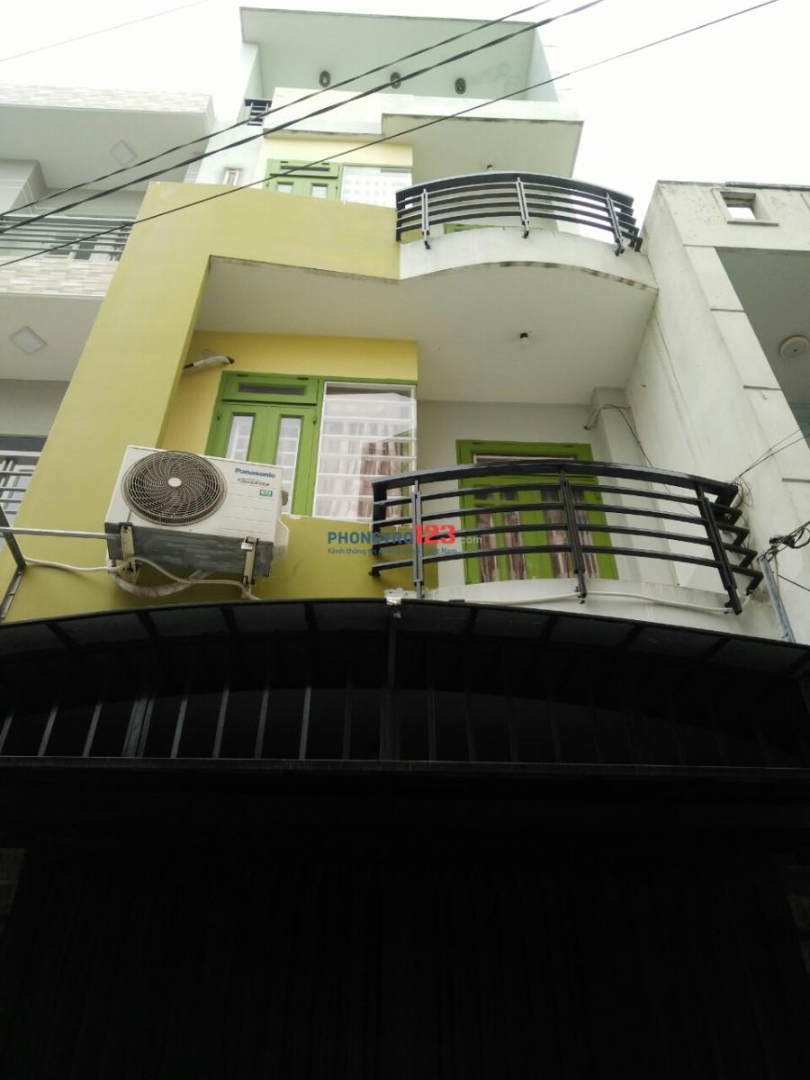 Cho thuê phòng Quận 12, gần CV Phần Mềm Quang Trung, lầu 3