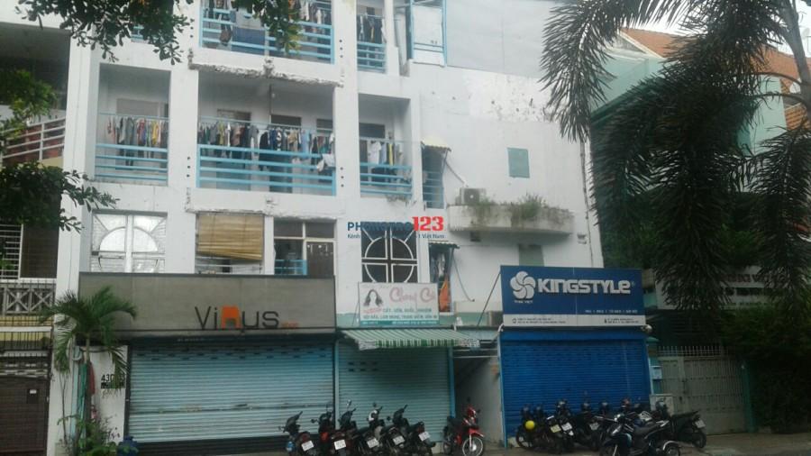Cho thuê phòng 43D/15 Hồ Văn Huê, P.9, Q.Phú Nhuận, HCM. Giá 2.1- 2.9 triệu/tháng.dt 0337269807