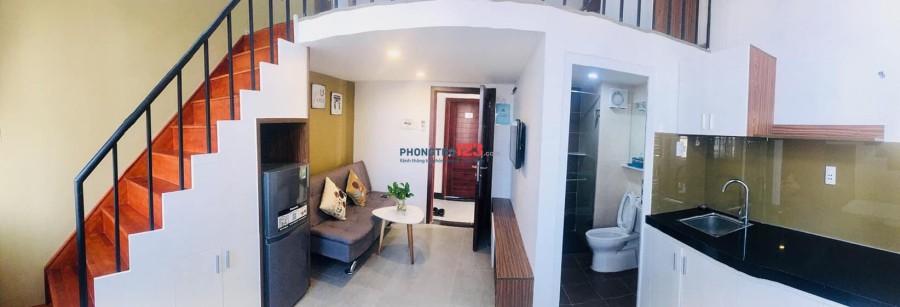 Cho thuê căn hộ mini quận 7 full NT, 35m2, 01PN, đẹp y hình 100%