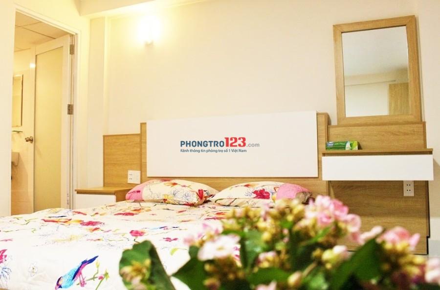 Cho thuê căn hộ mini Quận Tân Bình full nội thất, giờ giấc tự do