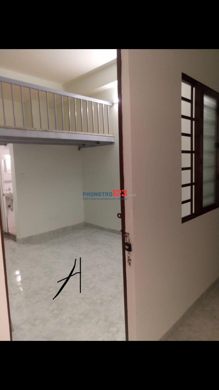 Cho thuê phòng trọ 25m2 tại Trường Chinh, Tân Bình giờ giấc tự do ở được 4 người