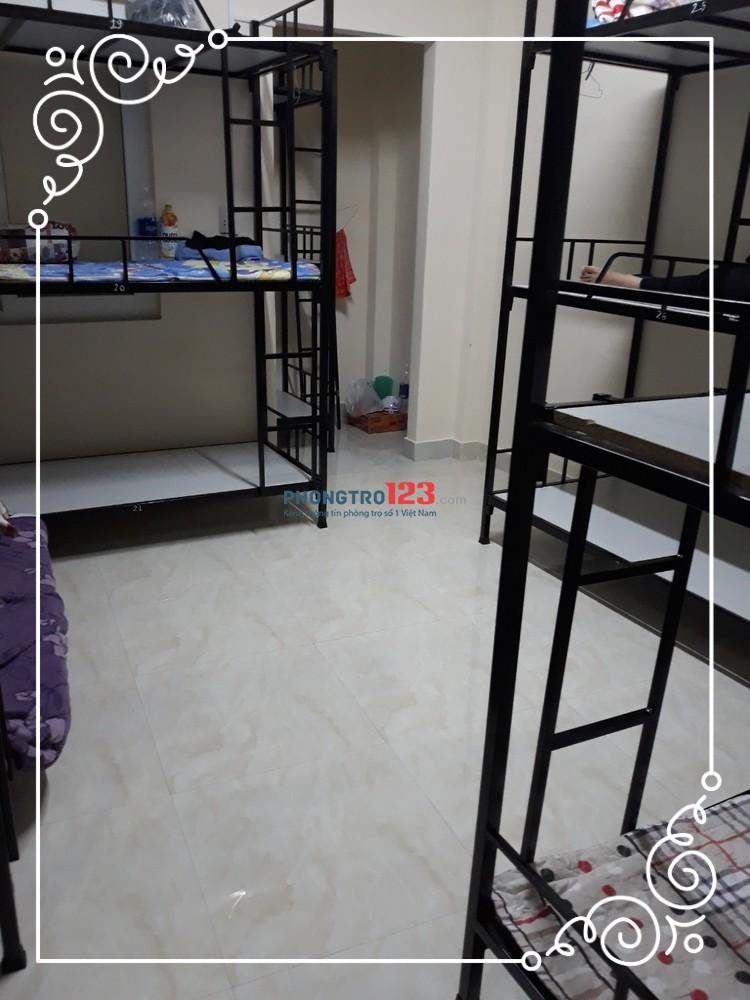 Cho thuê KTX máy lạnh 450k/tháng khu vực quận Bình Thạnh