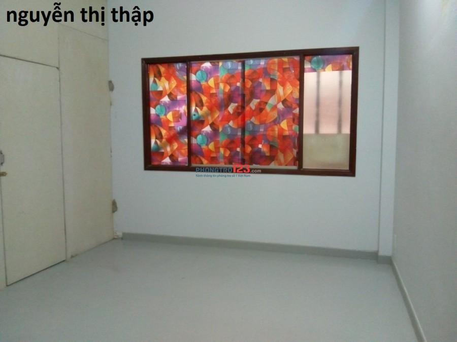 Phòng riêng tiện ích đầy đủ, máy lạnh thang máy giá 3tr5 Quận 7