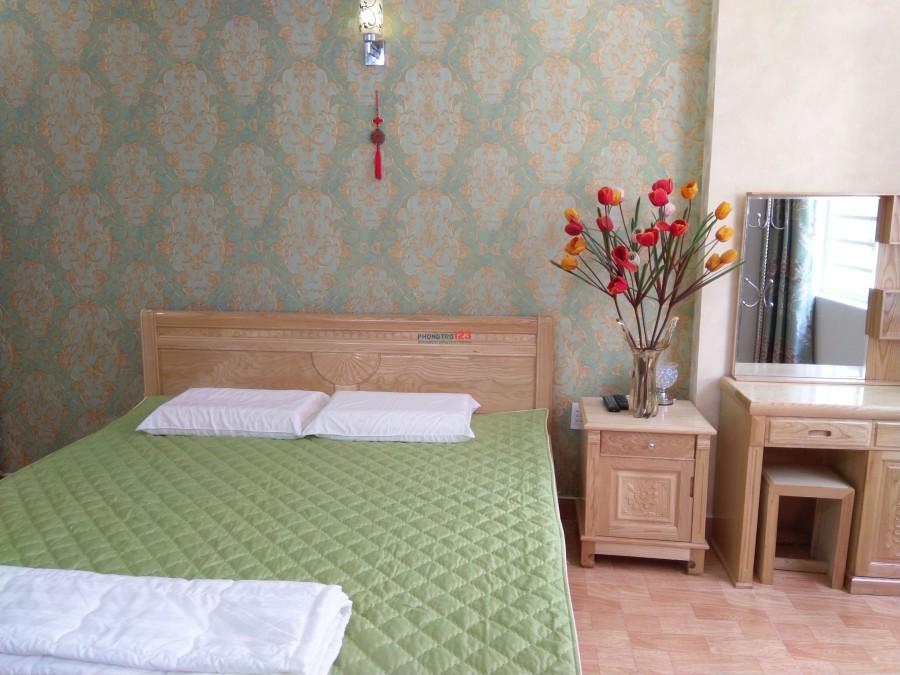 Cho thuê căn hộ mini, studio, 372/15 CMT8, Q.3