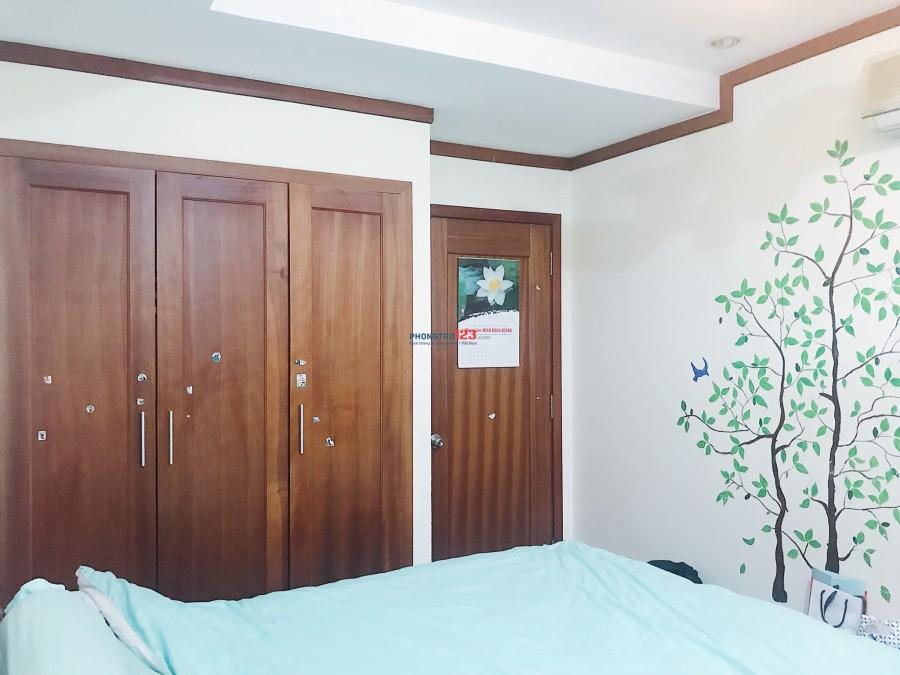 Phòng đầy đủ nội thất, chung cư HAGL An Tiến, chỉ cần xách vali vào ở