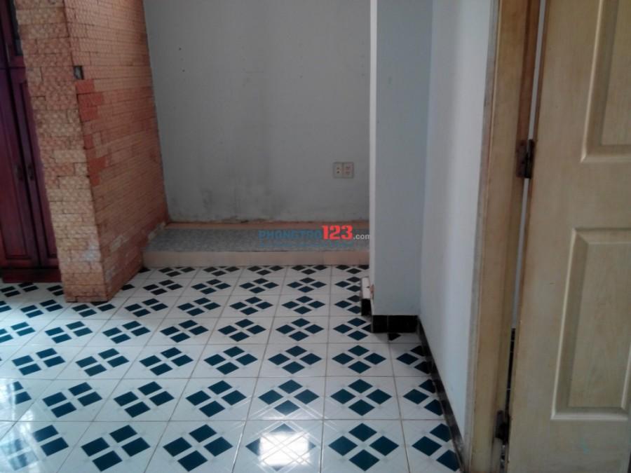 Nguyên lầu 1, 40m2, 1 phòng lớn và 1 phòng bếp, có ban công, giờ tự do