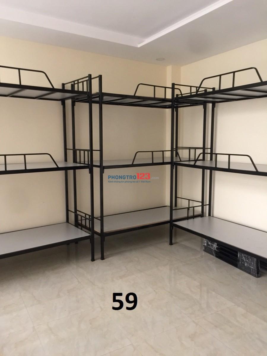 ktx cho thuê 450k/tháng máy lạnh mới xây