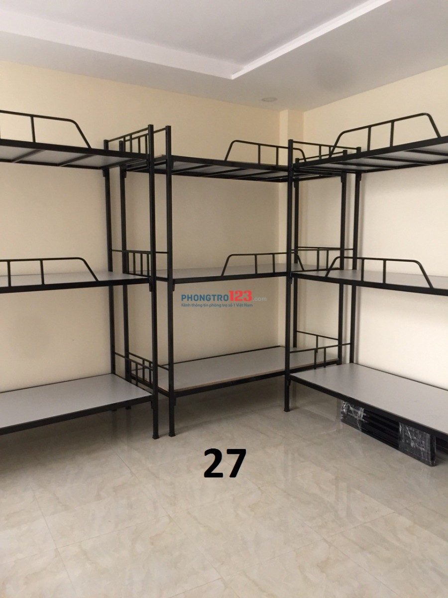 KTX cho thuê tại 69 Lê Văn Lương, Quận 7 có máy lạnh 450k/th